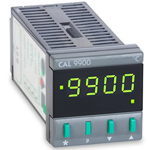 (CAL Controls 99101F CAL 9900 Series 1/16 DIN Temperature Controller, 115 VAC, One Relay Output, Deg)