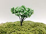 LAROSS for Home - Artificial Pink Tree Garden Home Houses Decoration Mini Craft Micro Landscaping Decor DIY Accessories