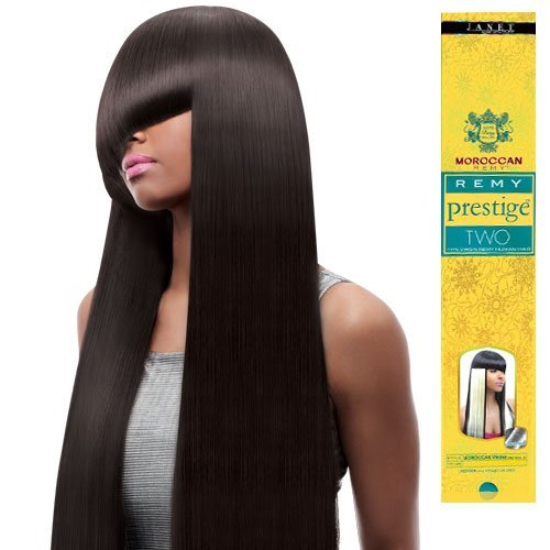 100% VIRGIN REMY HUMAN HAIR WEAVE JANET COLLECTION PRESTIGE TWO MOROCCAN REMY YAKY 10