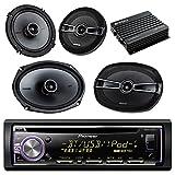 Best Planet Audio POWER ACOUSTIK Bluetooth Audio Receiver For Cars - Pioneer DEHX6900BT Bluetooth Car CD Receiver Bundle Combo Review