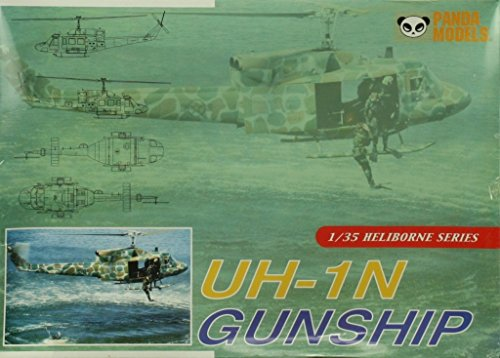 Panda Models 1:35 UH-1N Gunship Helicopter Heliborne Series Plastic Kit  #35009