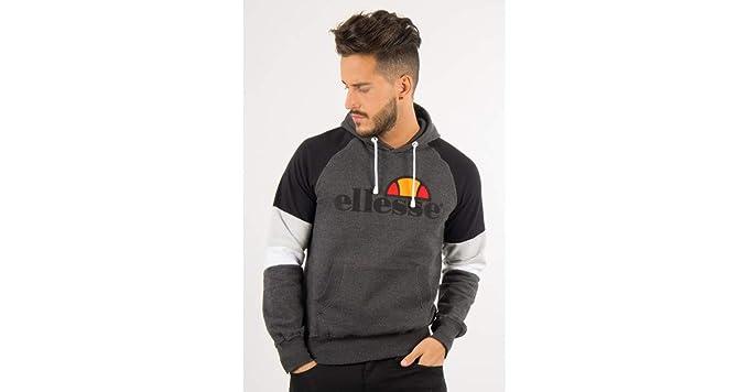 ellesse Eh H Hoodie Tricolore, Sweat-Shirt - XL  Amazon.fr ... cbb5388ee98a