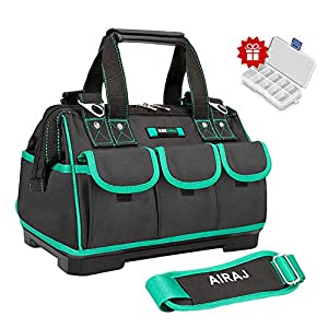 B/&W International TUC-11601 Technician Notebook Tool Bag with Pocket Pallets