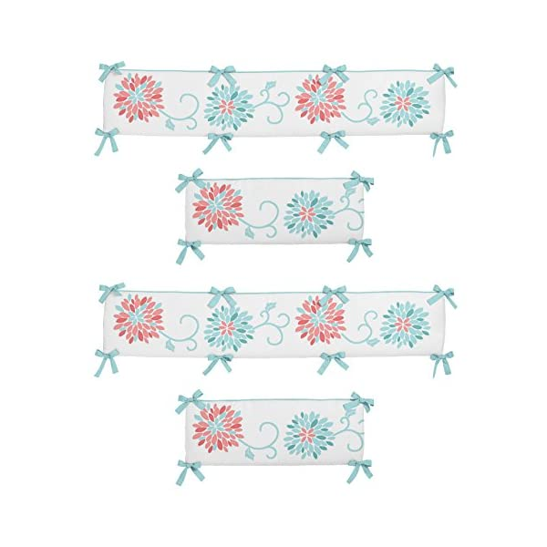 Sweet Jojo Designs Emma Collection Crib Bumper