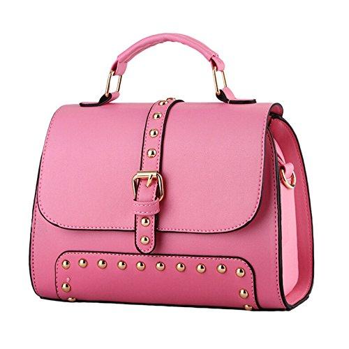 NiaNia ,  Damen Tasche , Pink - rose - Größe: