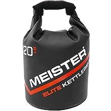 Meister Elite Portable Sand Kettlebell - Soft Sandbag Weight - 10/15/20lb