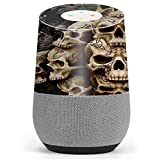 Skin Decal Vinyl Wrap for Google Home stickers skins cover / Wicked Skulls Tattooed
