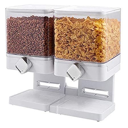 TOOGOO Recipiente de Alimentos Secos Snack Dispensador de Cereales ...