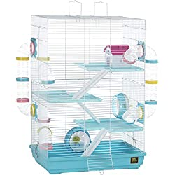PREVUE PET PRODUCTS INC Prevue Hamster Playhouse Blue/white