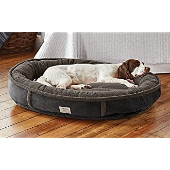 Amazon.com: Orvis Wraparound Dog Bed/Large Dogs 50-80 Lbs