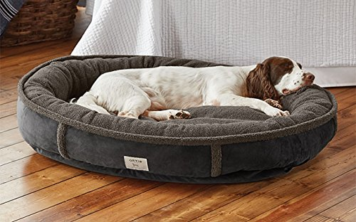 Orvis Wraparound Dog Bed / Large Dogs 50-80 Lbs., Slate by Orvis