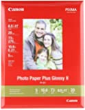 Genuine Canon PP-201, 8.5 x 11-Inch, LTR Size, Photo Paper Plus Glossy, 20 Sheets/Package