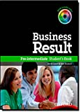 Business Result DVD Edition: Pre-Intermediate: Student's Book with DVD-ROM and Interactive or Online Workbook