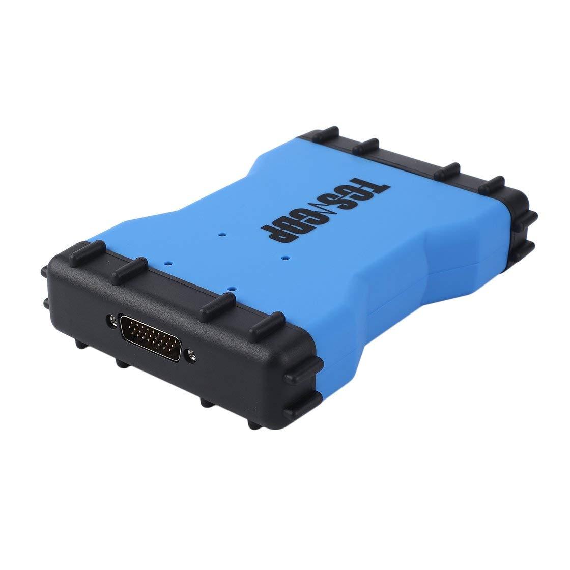 Gwendoll La Double Puce Verte de Carte PCB de VD TCS CDP V3.0 Aucun Outils diagnostiques d'interface d'automobile de Bluetooth pour des camions de Voitures avec Le câ ble d'OBD2