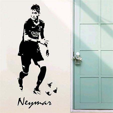 jiuyaomai Pegatinas de Pared Personajes de Estrellas de fútbol ...