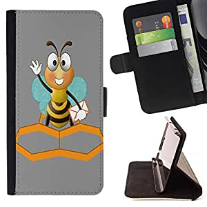 - Cartoon Girl Cute - - Premium PU Leather Wallet Case with Card Slots, Cash Compartment and Detachable Wrist Strap FOR Samsung Galaxy S3 III I9300 I9308 I737 King case