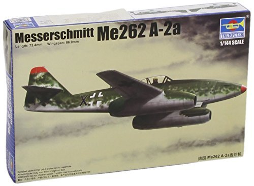 Trumpeter 1/144 Messerschmitt Me262A2a German Fighter