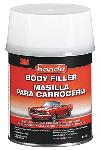 Bondo Body Filler W Hardener, Paste, 1 Qt, Gray