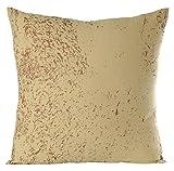 Gitika Goyal Home CCLSPYLBZ Textures in Metal - 20'' Cushion Cover