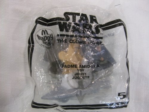 McDonalds Happy Meal Toy Star Wars Clone Wars Padme Amidala 2008