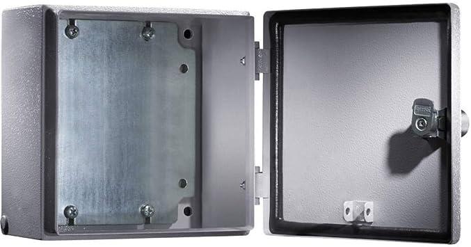 Rittal 1556.500 caja eléctrica Acero IP66 - Caja para cuadro eléctrico (300 mm, 120 mm, 400 mm): Amazon.es: Bricolaje y herramientas