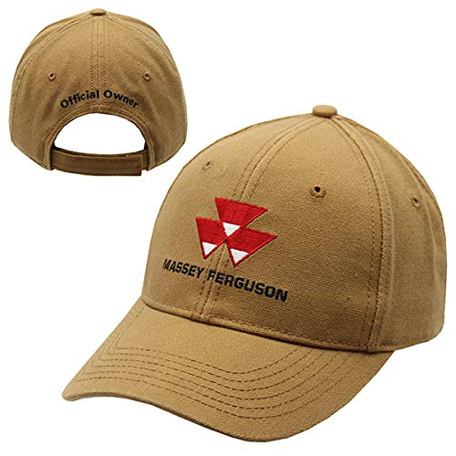 New MASSEY FERGUSON CANVAS OFFICIAL OWNERS HAT