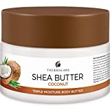 Shea Butter for Body, Stretch Marks Removal Cream: Feel Silky Smooth! Moisturizer for Dry Skin, Eczema Treatment, Pregnancy Belly Lotion with Natural & Organic Ingredients & Dead Sea Minerals (250 ml)
