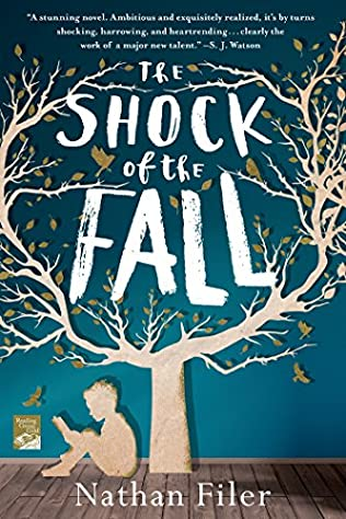 book cover of The Shock of the Fall