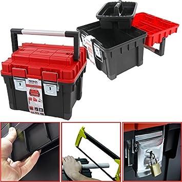 Plástico Caja De Herramientas para HD BOX COMPACT rojo, 45 x 35 cm ...
