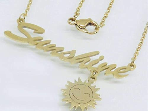 Elisa SS Sunshine Necklace Stainless Steel