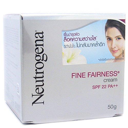 Neutrogena Fine Fairness Day Brightening Cream SPF 22 Pa++(all Skin Type) 50g / 1.7oz
