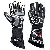 Sparco Arrow RG-7 Racing Gloves 01352A (Size 13, Black)
