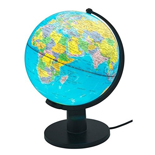 25 cm Globe With Light Unbranded bbc11