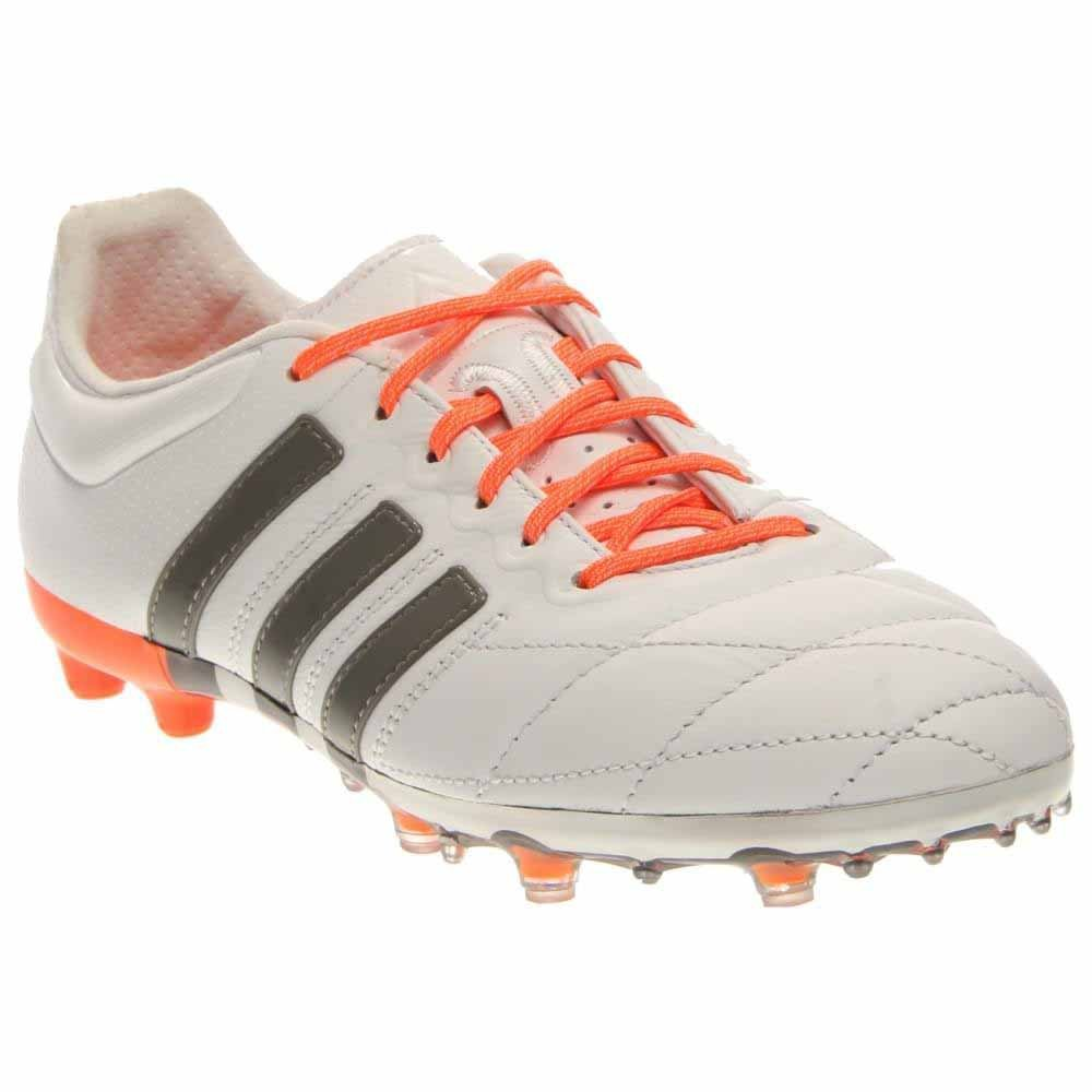 Adidas Women s ACE 15.1 FG AG Leather Soccer Cleats (White 4eb713dc51