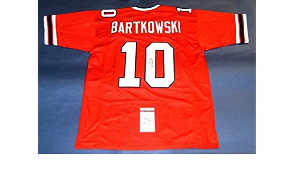 3a0123b8a Autographed Steve Bartkowski Jersey - JSA Certified - Autographed NFL  Jerseys at Amazon's Sports Collectibles Store