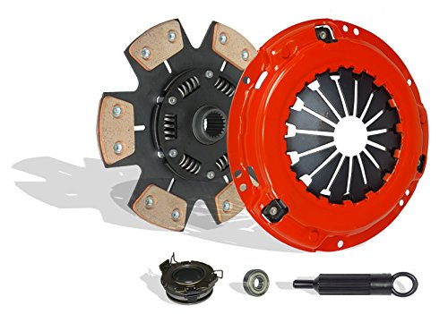 Clutch Kit Works With Toyota Mr-2 Turbo Coupe 2-Door 1991-1995 2.0L l4 GAS DOHC Turbocharged (6-Puck Disc Stage 3; Clutch Kit Flywheel Spec: +.020; Turbo)