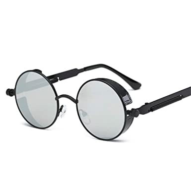 Amazon.com: CHICLI Cool Retro Gothic Steampunk Glasses Women ...