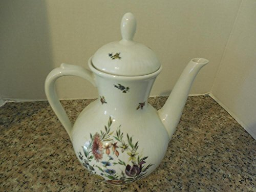 Elegant Winterling Bavaria Germany Porcelain Teapot Wildflower Design