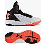 Under Armour Men's UA Micro G Torch Basketball Shoes 11.5 White
