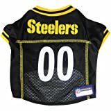 Pets First NFL Pittsburgh Steelers Jersey, XL, My Pet Supplies
