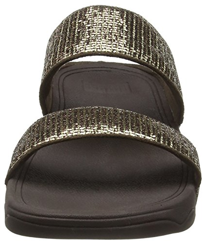 Lulu Superglitz Tm Infradito Oro Donna copper Slide Fitflop dwEqf5d
