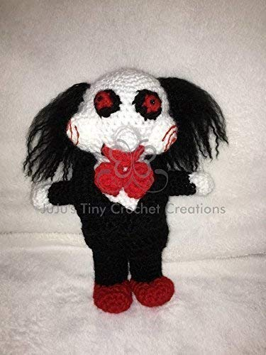 Creepy Puppet Doll - Halloween Decoration - Horror Movie - Horror Movie Doll - Halloween - Horror Collectible - Horror Movies - Scary Doll - Handmade - Crochet