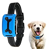 ColPet No Bark Collar, Rechargeable Safe Static Shock Collar 7 Sensitivity Levels Dog Training Collar Reflective Strap for 15-150Ib Dogs
