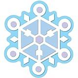 Carson Dellosa Snowflake Cut-Outs (120100)