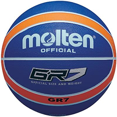 MOLTEN BGR - Pelota de Baloncesto, Azul Azul y Naranja Talla:7 ...