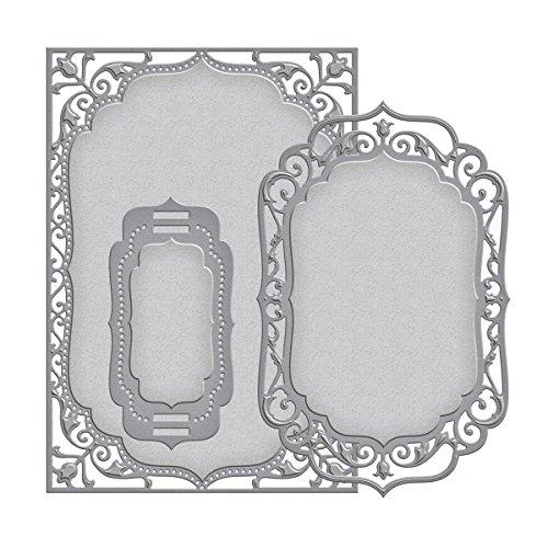 (Spellbinders S6-005 Nestabilities Elegant Labels 4-Die Templates, 5 by)