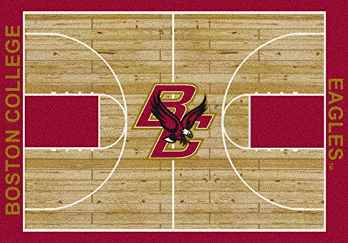 (Ship from USA) 5x8 Milliken Boston College Eagles NCAA Home Court Area Rug - Approx 5'4