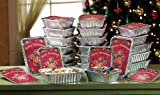 Holiday Gingerbread Foil Containers - 24 Pc