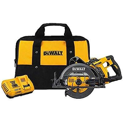 """DEWALT DCS577X1 FLEXVOLT 60V MAX 7-1/4"""" Worm Style Saw Kit, 9.0Ah Battery from Dewalt"""