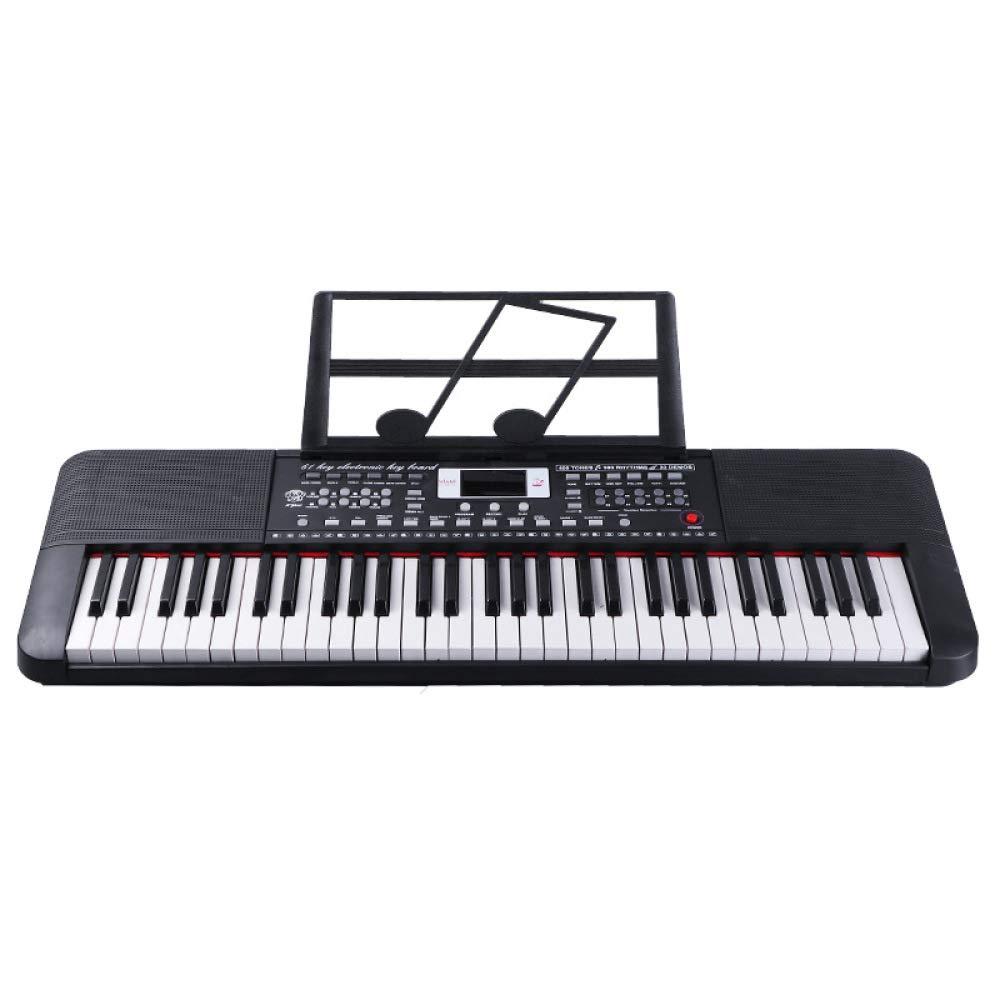 Promoción por tiempo limitado KYOKIM 61-Key Martillo Pesado Táctil Teclado Electrónico, Rompecabezas Educativos Juguetes Musicales